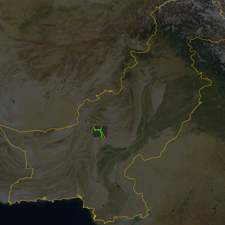 Pakistan training area.
